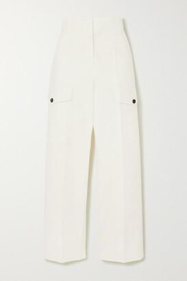 LVIR Cropped Cotton Straight-leg Pants