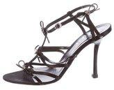 Christian Dior Embellished Multistrap Sandals