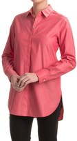 Foxcroft Vanessa No-Iron Tunic Shirt - Long Sleeve (For Women)