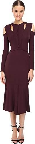 Yigal Azrouel Women's Stella Cold Shoulder Matte Jersey Dress