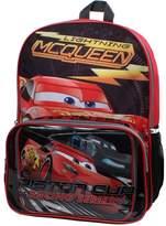 Disney Pixar Cars Lightning McQueen Backpack & Lunch Bag Set