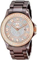 Jivago Women's JV9416 Ceramic Analog Display Quartz Multi-Color Watch