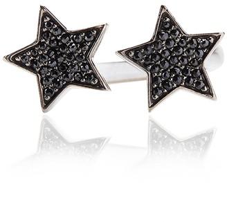 Ring Black Alinka Jewellery Stasia Two Star Diamonds