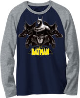 Novelty T-Shirts Batman Long-Sleeve Novelty Raglan Shirt - Boys 8-20