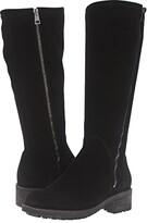 La Canadienne Cecile (Black Suede) Women's Boots