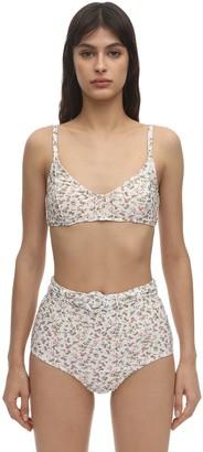 Peony Swimwear La Boheme Piped Bralette Bikini Top