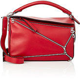 "Loewe Women's ""Puzzle"" Medium Shoulder Bag-RED"