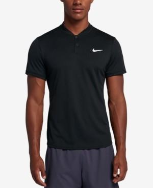 Nike Men's Court Dry Blade-Collar Tennis Polo