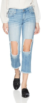 True Religion Women's Starr Cropped Straight