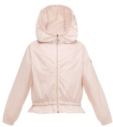 Moncler Toddler Girl's Camelien Hooded Water Resistant Windbreaker Jacket