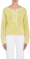 TOMORROWLAND Women's Laced Cotton Sweater