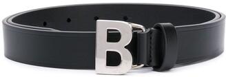 Balenciaga B thin belt