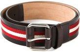 Bally striped belt - men - Calf Leather - 105