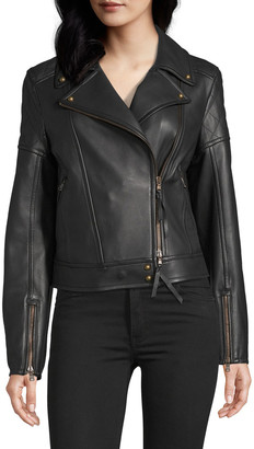 Robert Graham Monroe Leather Biker Jacket