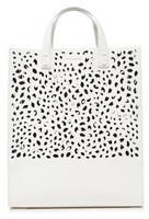 White Leather Handbags Shopstyle Uk
