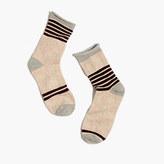 Madewell Striped Diamond Trouser Socks