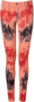 Coral Verdugo Tie Dye Jeans