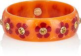 Mark Davis Women's Floral Bakelite Bangle
