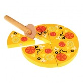 REX Wooden Pizza Game