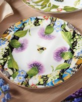 Mackenzie Childs MacKenzie-Childs Thistle & Bee Charger Plate