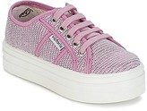 Victoria BASKET TEJIDO LUREX KIDS Pink
