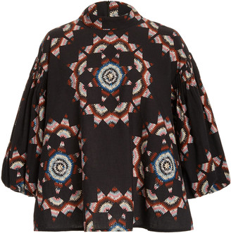 Sea Lindstrom Quilt Long Sleeve Top