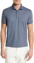 Loro Piana Ryder Cup Rigato Jersey Polo Shirt with Contrast Tipping