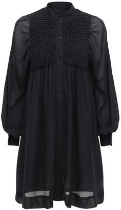 Ganni Chiffon Mini Dress