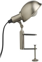 Tommy brushed metal clamp desk lamp