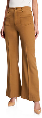 RED Valentino Boot-Cut Pants