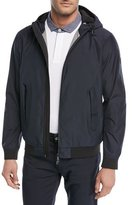 Emporio Armani Lightweight Technical Hooded Jacket