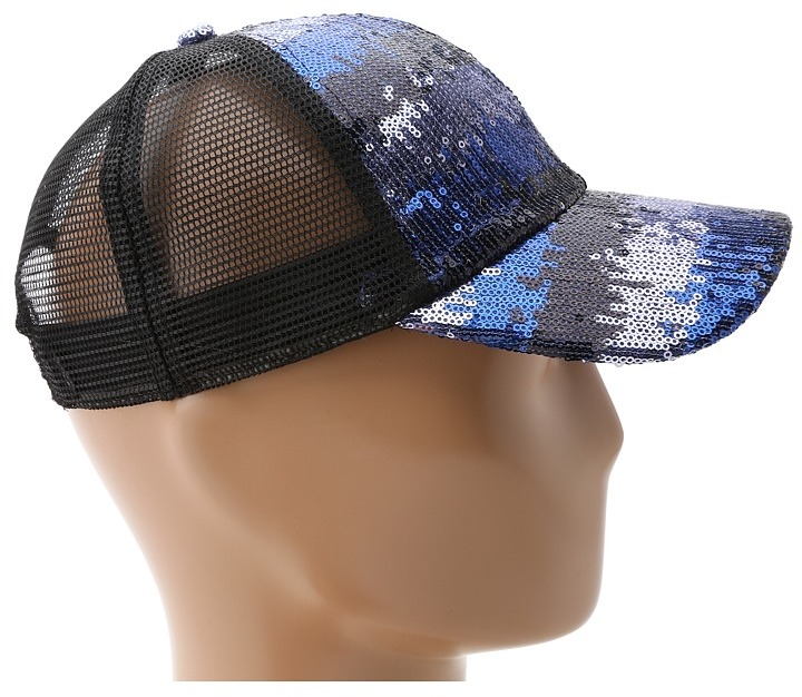 San Diego Hat Company CTH3658 Sequin Trucker Hat