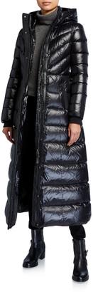 Mackage Calina Zip-Front A-Line Down Coat