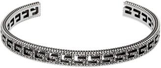 Gucci Silver bracelet with SquareG
