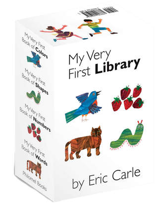 Penguin Random House Eric Carle's Very Little Library Boxed Set Of 4 Board Books