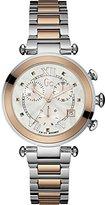 Gc Guess Collection Women's Lady Chic Multicolor Two Tone Steel Bracelet Steel Case Quartz Watch Y05002M1