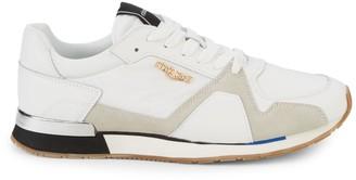 Roberto Cavalli Sport Logo Low-Top Sneakers