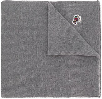 Paul Smith Embroidered Patch Scarf