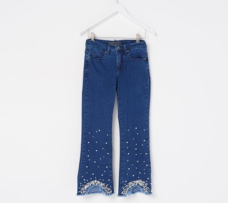 Women with Control Petite My Wonder Denim Pearl Ankle Jeans