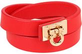 Salvatore Ferragamo Salvaore Gancini Wrap Bracele Bracele