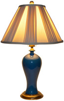 Jane Home Furniture Ceramic Table Lamp, Navy Blue