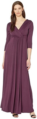 Tiffany Rose Willow Maternity Gown (Claret) Women's Dress