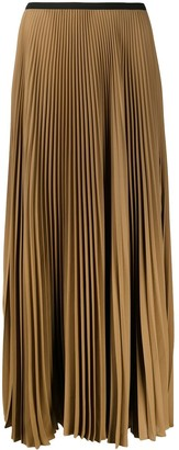Blanca Vita High-Waisted Pleated Skirt