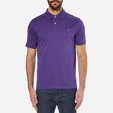 Polo Ralph Lauren Men's Custom Fit Pima Cotton Polo Shirt Saranac Purple