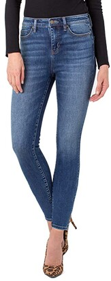 Liverpool Abby Ankle Skinny Jeans in Sequoia (Sequoia) Women's Jeans