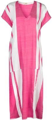 Lemlem Zoya striped kaftan dress