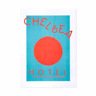 +Hotel by K-bros&Co Fanclub Chelsea Hotel Mind Charity Retro Art Print
