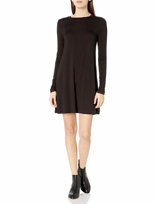 BCBGeneration Women's Long Sleeve Back Yoke Dress