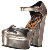 Iron Fist Women's Hey You Guys Holiday Platform Heels,5 UK 38 EU