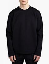 Valentino Navy Lightweight Neoprene Sweatshirt
